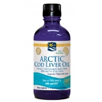 Nordic Naturals - Arctic Cod Liver Oil Lemon - 8 oz.-NOR54582 03/2018