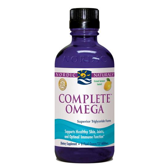 Complete Omega Liquid Lemon - 8 oz. (formerly Omega-3.6.9)-NOR51282