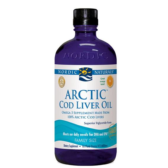 Nordic Naturals - Arctic Cod Liver Oil Orange - 16 oz.-NOR54583 11/2018