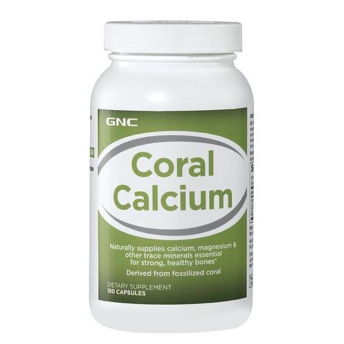 GNC Coral Calcium, Capsules 180 ea - GNC006