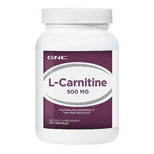 GNC L-Carnitine 500, Capsules 120 ea - GNC011