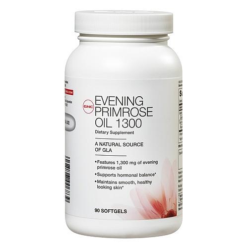 GNC Women's Evening Primrose Oil 1300, Softgel Capsules 90 ea - GNC015