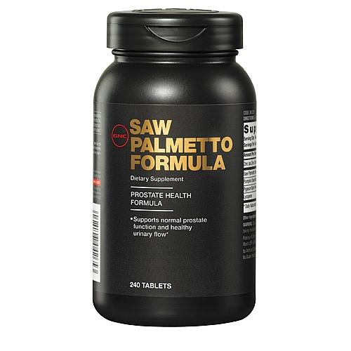 GNC Men's Saw Palmetto Formula, Tablets 240 ea - GNC022
