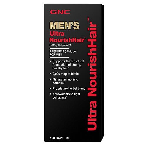 GNC Men's Ultra Nourishhair, Tablets 120 ea - GNC023