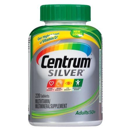 Centrum Silver Multivitamin, Tablets 220 - CEN006