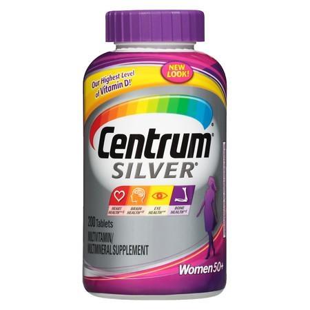 Centrum Silver Women 50+ Multivitamin, Tablets 200 - CEN008