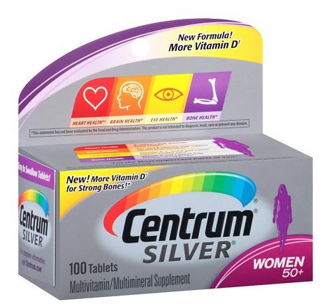 Centrum Silver Women 50+ Multivitamin Tablets  100 - CEN001